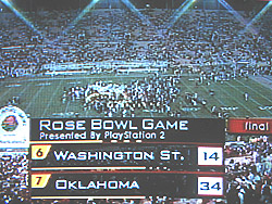 OU wins the 2003 Rose Bowl!