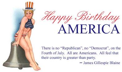 [ Happy Fourth of July! ]