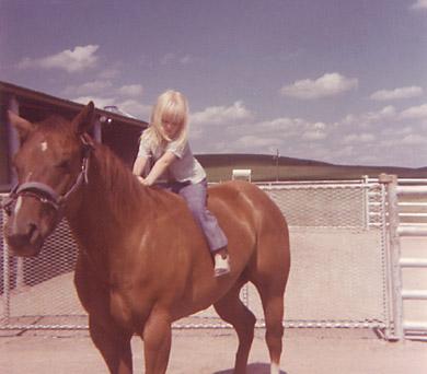 [on my horsey]