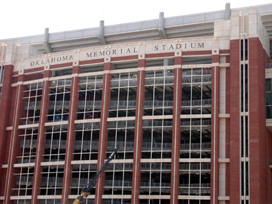 [Oklahoma Memorial Stadium]