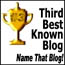 [third best known blog]