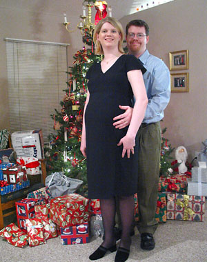 [Robyn and Todd - Christmas 2003]